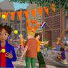 """""""Praatplaat Koningsdag voor het digibord door Gynzy, software voor het digitale schoolbord"""""""