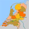 """""""Interactieve kaarten Nederland voor het digibord door Gynzy, software voor het digitale schoolbord"""""""