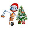 """""""Kerst - Galgje voor het digibord door Gynzy, software voor het digitale schoolbord"""""""