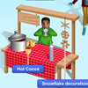 Winter Scene for the smart board by Gynzy Interactive Whiteboard Software