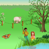Spring Scene for the smart board by Gynzy Interactive Whiteboard Software