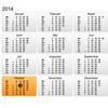 """""""Kalender voor het digibord door Gynzy, software voor het digitale schoolbord"""""""