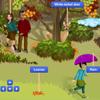 Fall Scene for the smart board by Gynzy Interactive Whiteboard Software