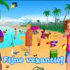 """""""Fijne vakantie! voor het digibord door Gynzy, software voor het digitale schoolbord"""""""