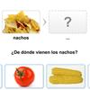 ¿Qué viene de qué? for the smart board by Gynzy Interactive Whiteboard Software