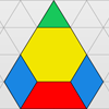 Pattern Blocks for the smart board by Gynzy Interactive Whiteboard Software