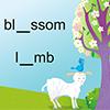 Seasonal Spelling for the smart board by Gynzy Interactive Whiteboard Software