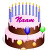 """""""Verjaardagstaart voor het digibord door Gynzy, software voor het digitale schoolbord"""""""