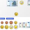 """""""Geld tellen voor het digibord door Gynzy, software voor het digitale schoolbord"""""""