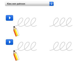 handschrift  patronen en andere taal tools en spelletjes