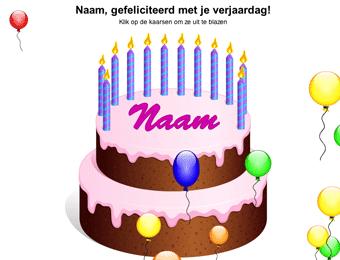 taart versieren digibord Verjaardagstaart voor op het digibord | Gynzy taart versieren digibord