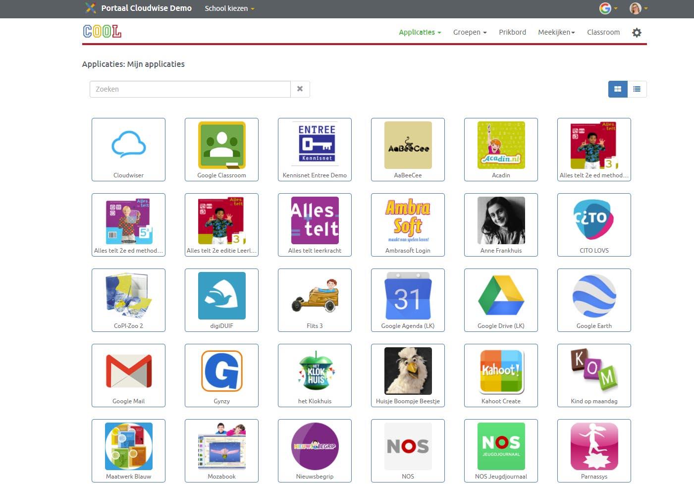 COOL platform voor digitaal leren